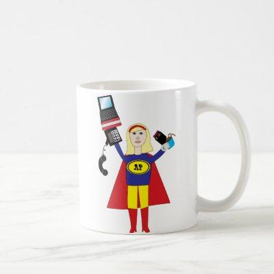 Administrative Professional Super Hero Mug