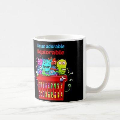 Adorable Deplorable, Basket of Deplorables Coffee Mug