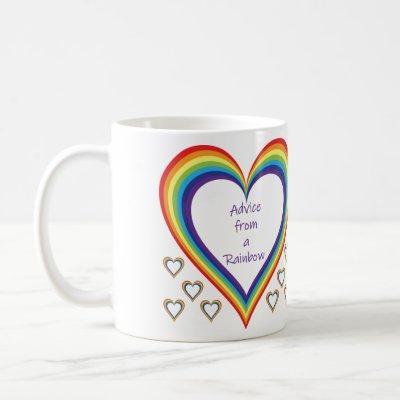 Advice from a Rainbow Mug