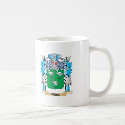 Ahern Coat Of Arms Coffee Mug