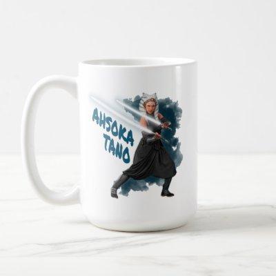 Ahsoka Tano Lightsaber Graphic Coffee Mug