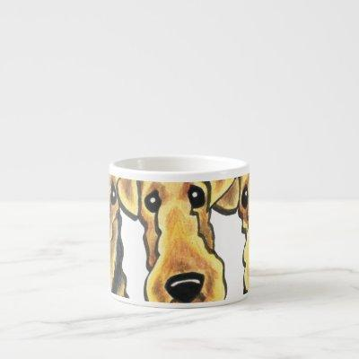 Airedale Terrier Lover Espresso Cup