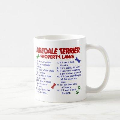 AIREDALE TERRIER PL2 COFFEE MUG
