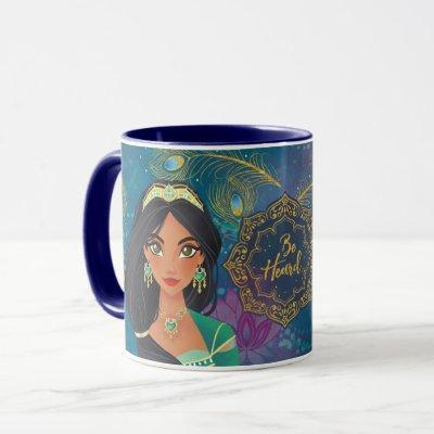 """Aladdin   Jasmine """"Be Heard"""" Mug"""