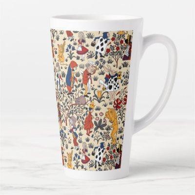 Alice in Wonderland Latte Mug