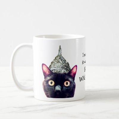 Aliens! Cat Mug