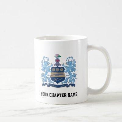 Alpha Xi Delta Crest Color Coffee Mug
