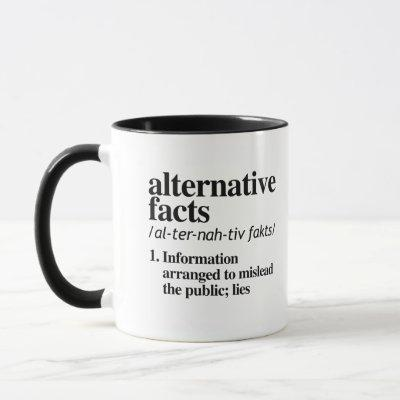 Alternative Facts Definition Mug