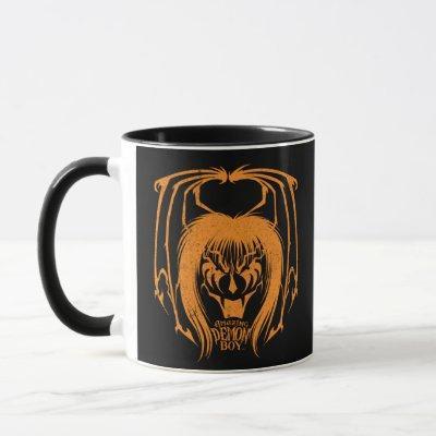 Amazing Demon Boy Halloween 2021 Orange Mug