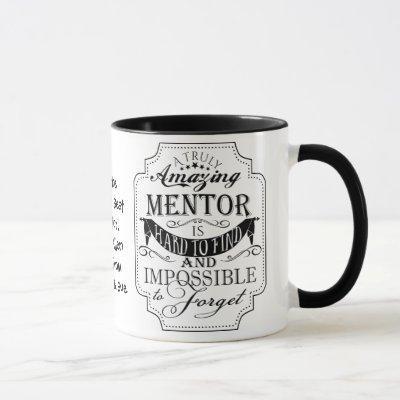Amazing mentor appreciation gift Christmas Mug