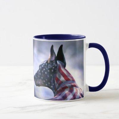 American Pride Doberman Mug