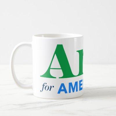 Amy for America Coffee Mug