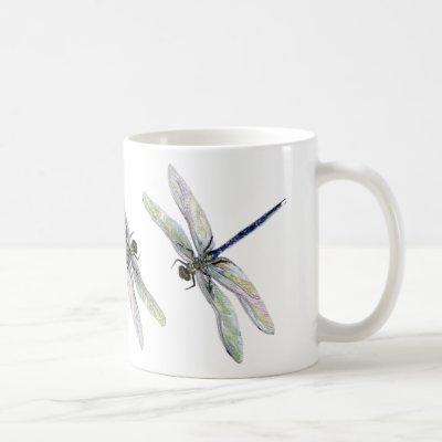 Ancient Dragonfly Cup Mug