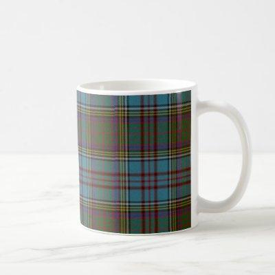 Anderson Clan Tartan cup