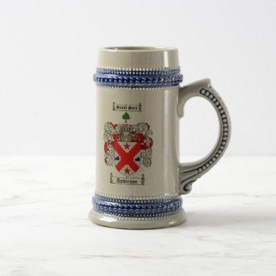 Anderson Coat of Arms Stein / Anderson Family