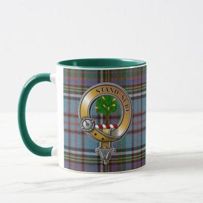 Anderson Tartan & Badge Mug