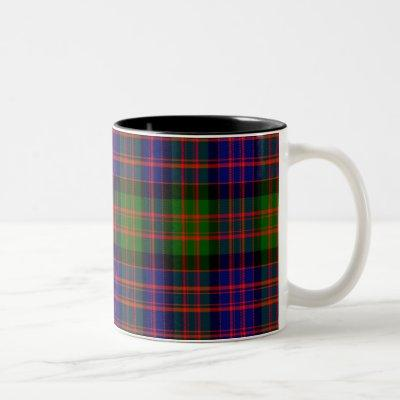 Andrew Scottish Tartan Two-Tone Coffee Mug