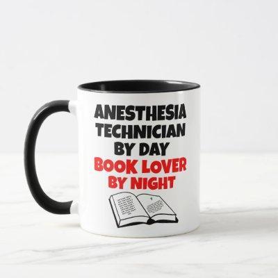 Anesthesia Technician Book Lover Mug