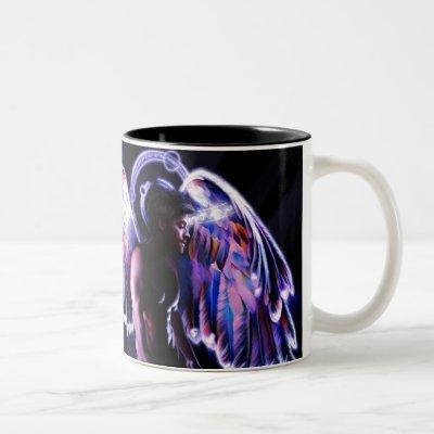 Angel's Glory Two-Tone Coffee Mug