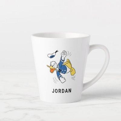 Angry Donald Duck Latte Mug