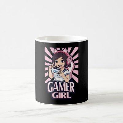 Anime Gamer Girl Gaming Girls Gift Coffee Mug