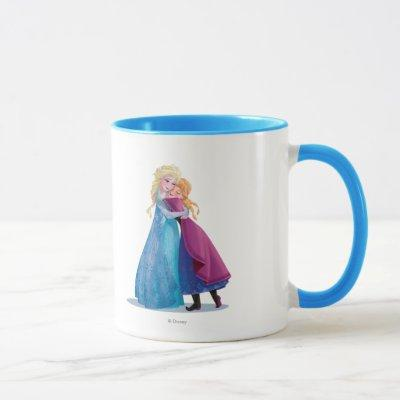 Anna and Elsa | Hugging Mug