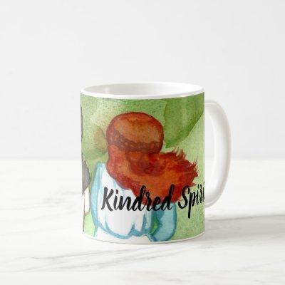 Anne and Diana Kindred Spirits Mug