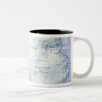Antarctica Two-Tone Coffee Mug