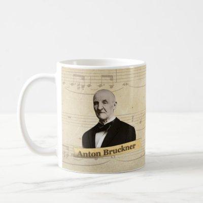 Anton Bruckner Historical Mug