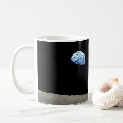 Apollo 8 Lunar Earthrise 50th Anniversary Coffee Mug