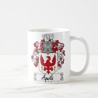 Aquila Family Crest Coffee Mug