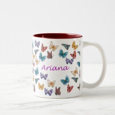Ariana Two-Tone Coffee Mug