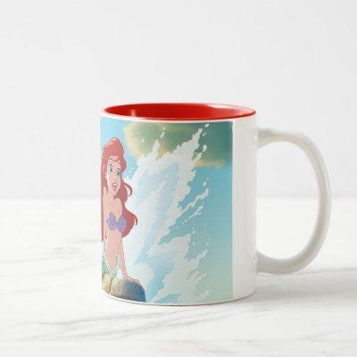 Ariel   Adventure Begins With You Two-Tone Coffee Mug