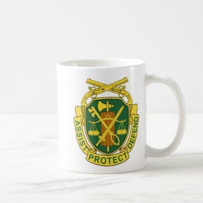 Army Military Police Corps Coffee Mug