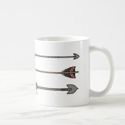 Arrow Quiver Full Tribal Psalm 127 Mug