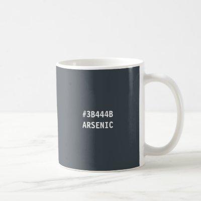 Arsenic Color hex Code Mug