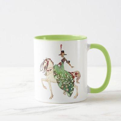 Art Nouveau Princess on Horse by Kay Nielsen Mug
