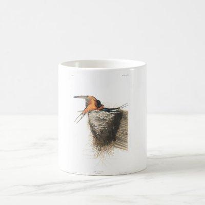 Audubon Plate 173 Barn Swallow Coffee Mug