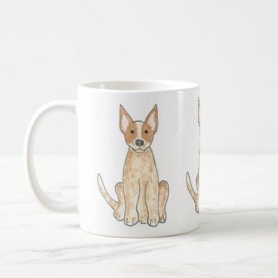 Australian Cattle Dog Red Heeler Coffee Mug