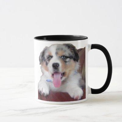 Australian Shephard puppy Mug
