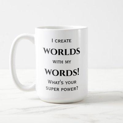 Author's or Writer's Mug
