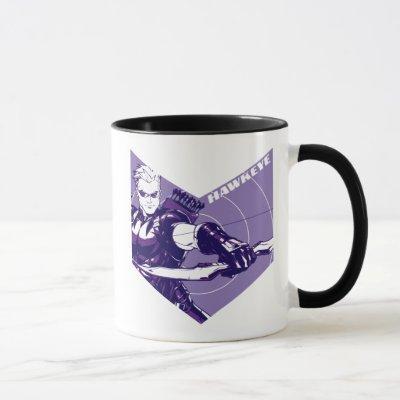 Avengers Classics   Hawkeye Arrow Cutout Mug
