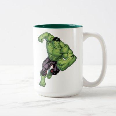 Avengers Classics | Hulk Charge Two-Tone Coffee Mug