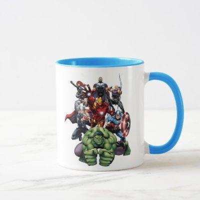 Avengers Classics | Hulk Leading Avengers Mug