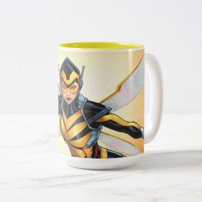 Avengers Classics | The Wasp Flying Two-Tone Coffee Mug