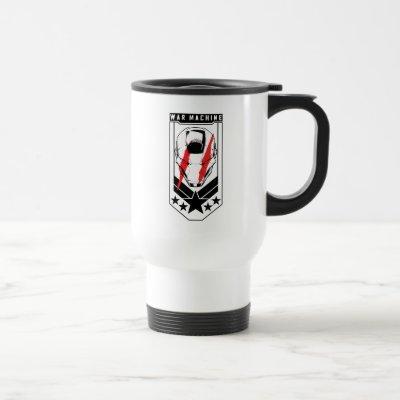 Avengers Classics | War Machine Icon Badge Travel Mug