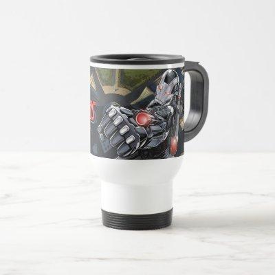Avengers Classics   War Machine Punch Travel Mug