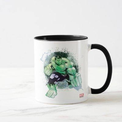 Avengers Hulk Watercolor Graphic Mug