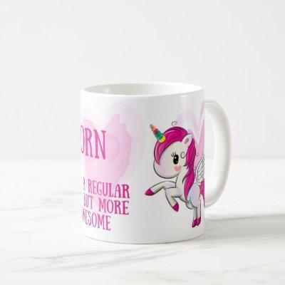 Awesome Aunt unicorn mug