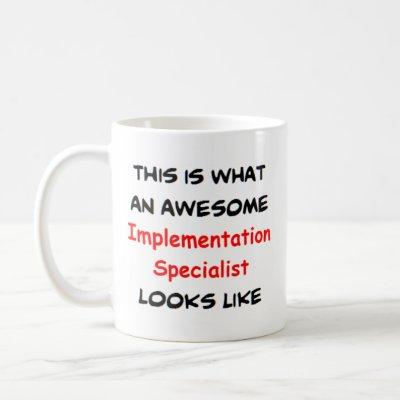 awesome implementation specialist coffee mug